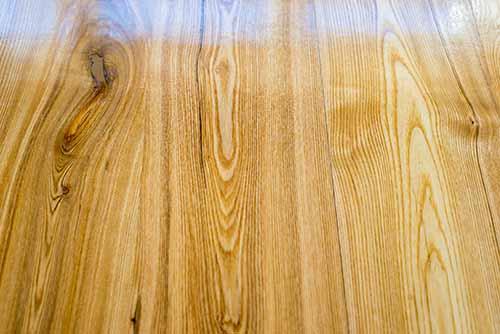 Oak wood plank boards